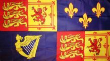 ROYAL BANNER 1707-1714 QUEEN ANNE - 5 X 3 FLAG